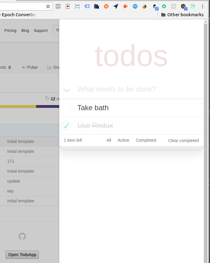 ToDo Chrome Extension Inject.js